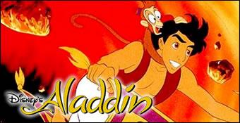 Aladdin vole sur le tapis