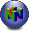 Logo de la console Nintendo 64