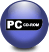 Le logo du système informatique PC