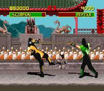 Reptile est le personnage caché de Mortal Kombat sur MegaDrive