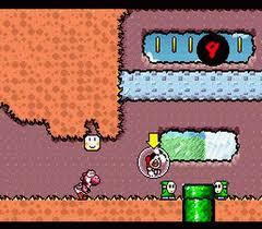 Bébé Mario s'envole dans Yoshi's Island