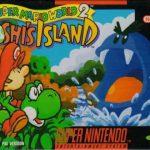 Jaquette de Yoshi's Island sur Super Nes