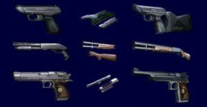 Les trois armes principales de Léon et leurs améliorations dans Resident Evil 2
