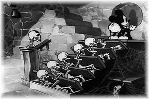 Un extrait du dessin animé The Mad Doctor avec Mickey