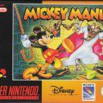 La boite du jeu retro Mickey Mania sur Super Nintendo