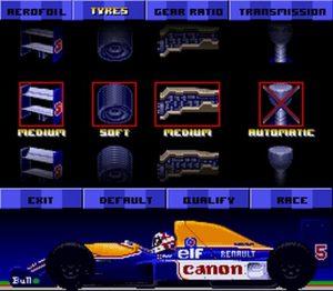 La liste des réglages de votre F1 avant chaque course