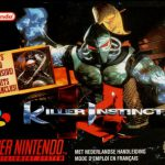 La boite du jeu retro-gaming Killer Instinct sur Super Nintendo