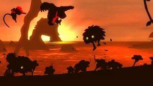 Le niveau du crépuscule dans Donkey Kong Returns sur Wii