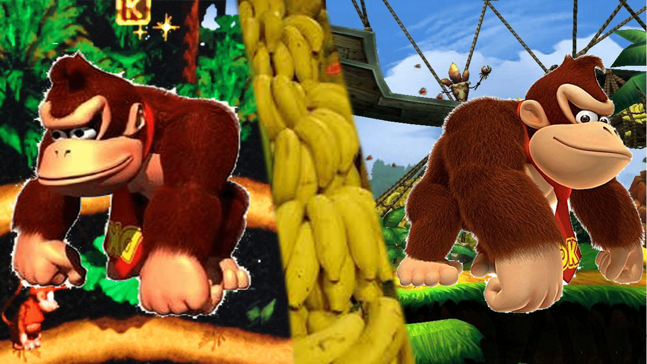 Neo/Retro test : Donkey Kong Country VS Returns
