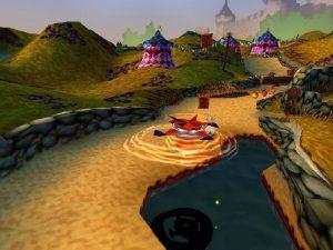 Le pouvoir de la triple tornade dans Crash Bandicoot