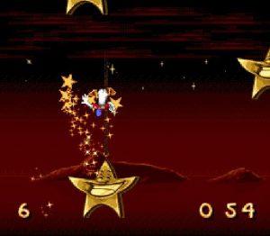 Le niveau bonus dans le jeu retro Donald in Maui Mallard