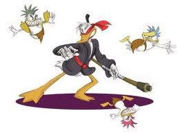 Le personnage Cold Shadow, ou Donald en ninja sur Super Nintendo