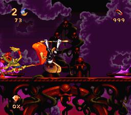 Le boss final du jeu Donald in Maui Mallard - Cold Shadow