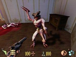 Le monstre Hurleur du jeu Clive Barker's Undying sur PC