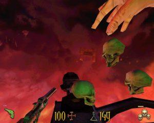 Sort des crânes dans le jeu Undying sur PC