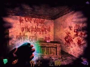 Le sort de la vision spectrale dans le jeu Undying sur PC