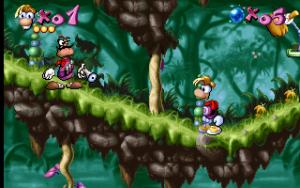Screenshot du jeu video Rayman 1 sur Playstation 1