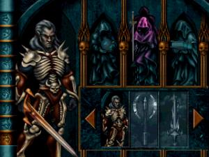 L'inventaire dans le jeu Blood Omen Legacy of Kain sur PC