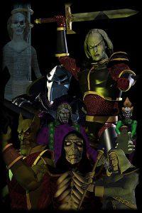Les alliés et ennemis de Kain dans Blood Omen sur PS1