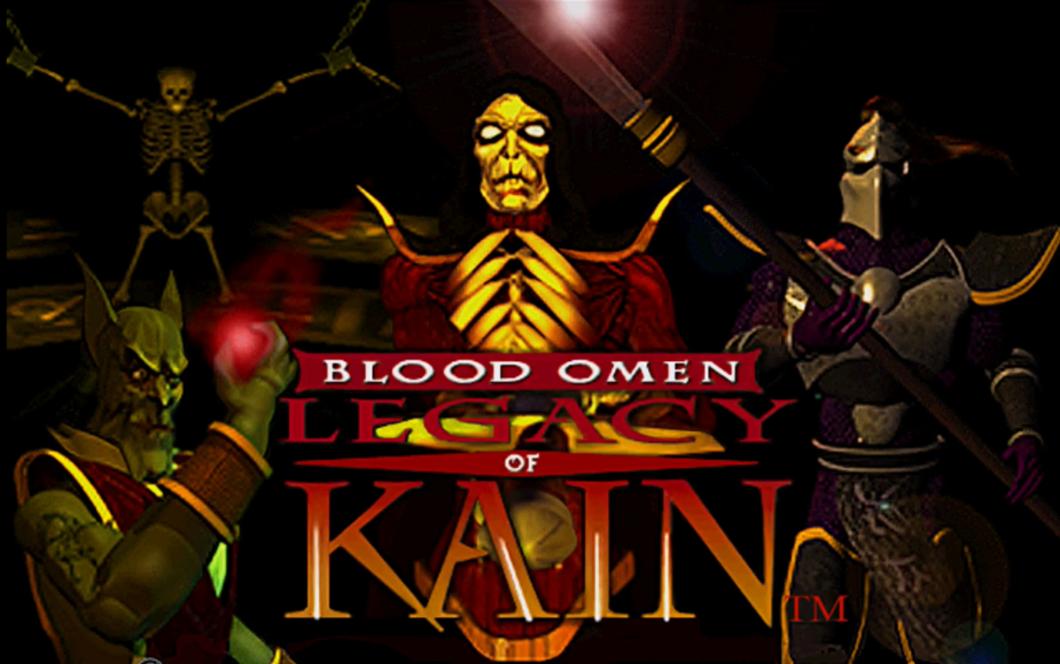 écran titre du jeu blood omen legacy of kain