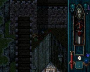 Une ville dans le jeu Legacy of Kain Blood Omen sur PS1