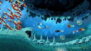 Le jeu Rayman Origins est jouable à 4 personnes