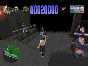 Premier niveau de Piège de Cristal dans Die Hard Trilogy sur Playstation