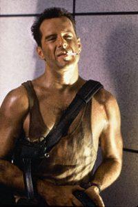 Bruce Willis dans le rôle de John McClane dans Die Hard