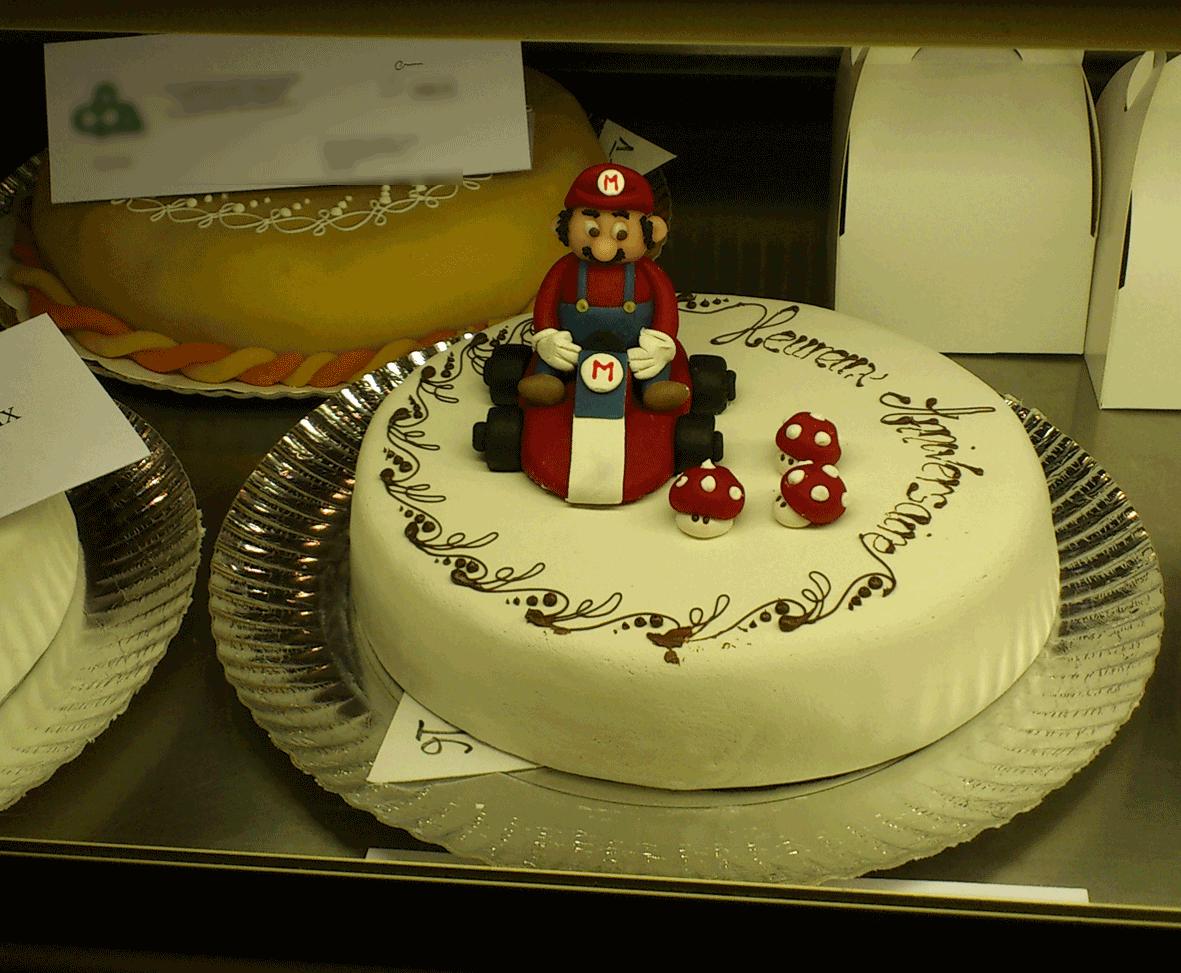 Le gâteau qui va vite