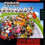 Boîte du jeu Super Mario Kart sur Super Nes