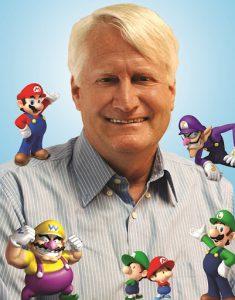 Charles Martinet, la voix de Mario, Luigi et Wario