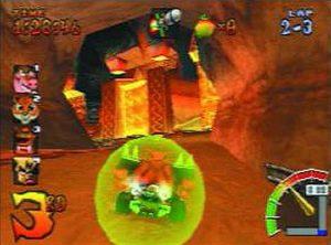L'objet Bouclier du jeu Crash Team Racing CTR