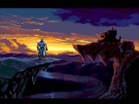 Intro du jeu Castelvania Rondo of Blood sur PC Engine