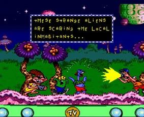Les ennemis humains dans le jeu ToeJam and Earl Panic on Funkotron
