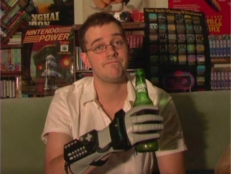 James Rolfe, alias Angry Video Game Nerd