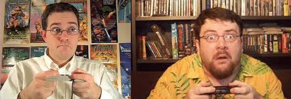 Angry Video Game Nerd et le Joueur du Grenier