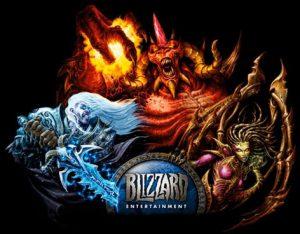 Artwork des personnages de Warcraft, Starcraft et Diablo