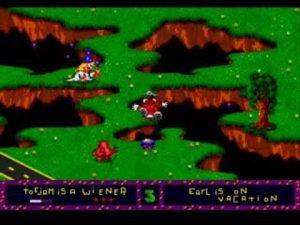 Des ennemis dans ToeJam and Earl sur Mega Drive