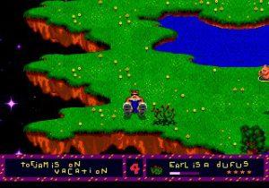 Earl dans le jeu ToeJam and Earl sur Megadrive