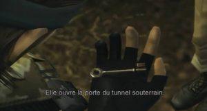 Clé donnée par Eva dans Metal Gear Solid 3