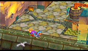 La recherche de la clé de la Spirit Sword dans Grandia sur PS1