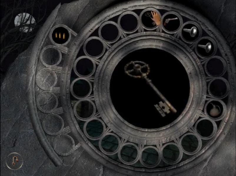 Clé de l'entrée dans le jeu Dracula Origin