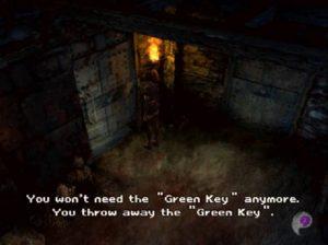 Une clé inutile est jetée dans Koudelka