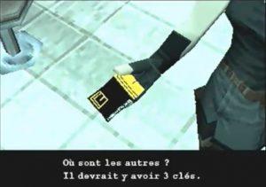 La clé thermique de Meryl dans Metal Gear Solid