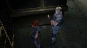 Le passage d'un objet dans Dino Crisis sur PS1