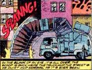 Une planche du comic Spider-Man de Marvel