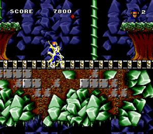 le niveau de Cyclope dans Arcade's Revenge sur SNes