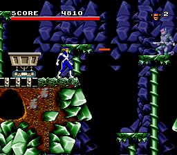 Cyclope et son laser dans le jeu Arcade's Revenge sur SNES