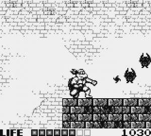 Shiruken dans le jeu Tortues Ninja sur Game Boy