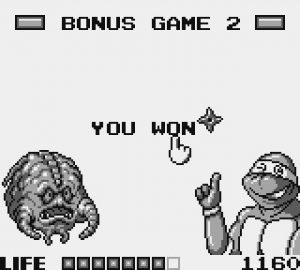 Mini-jeu de Krang dans Tortues Ninja sur Game Boy